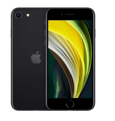 Apple iPhone SE (2020) 128GB - Black