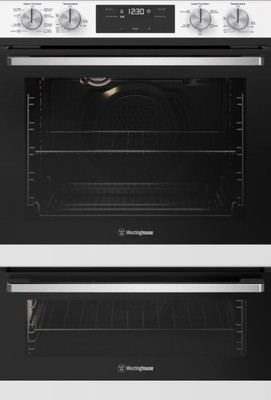Westinghouse 60cm Multi-Function 8/5 duo oven - White