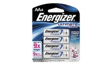 Energizer Battery AA Ultimate Lithium 4 Pack