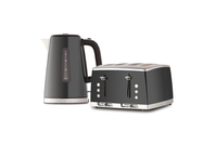 Russell Hobbs Kettle & 2 Slice Toaster - Grey