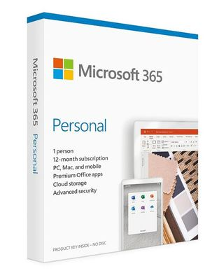 Microsoft office 365 personal 1y licence medialess - 2019