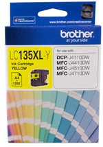Brother Ink 1200 yield Cartridge - Yellow