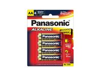 Panasonic Alkaline Batteries 4 X AA