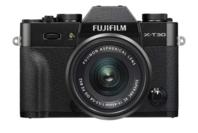 Fujifilm X-T30 Camera + XC15-45mm Kit - Black