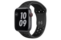 Apple Watch Nike Series 6 GPS + Cellular, 44mm Space Grey Aluminium Case with Anthracite/Black Nike Sport Band - Regular