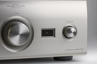 Denon 2x 160w reference integrated amplifier   silver   5
