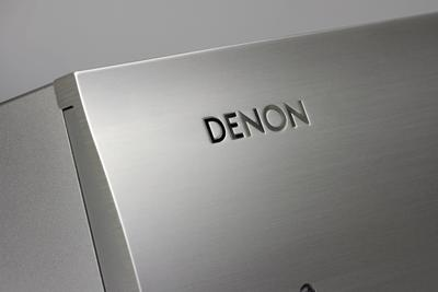 Denon 2x 160w reference integrated amplifier   silver   6