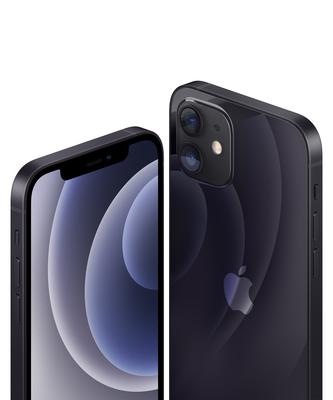 Iphone 12 black close up