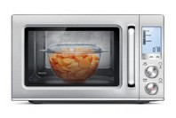 Breville Smooth Wave Microwave  - Brushed Stainless Steel