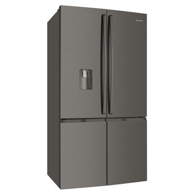 Westinghouse 600L dark stainless steel 4 door French door with water dispenser