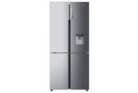 Haier 565L, Quad Door Refrigerator Freezer, 84cm, Water Dispenser - Satina