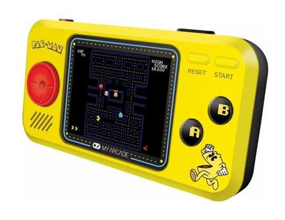 Pac man hits handheld gaming system 2