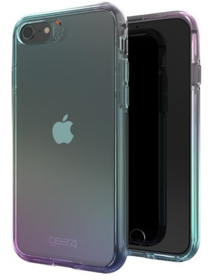 Gear4 D3O Crystal Palace Case for  iPhone SE/iP8/iP7/iP6s/iP6 - Iridescent