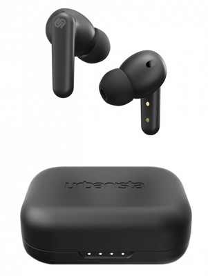 Urbanista London Noise Cancelling True Wireless Earbuds - Black