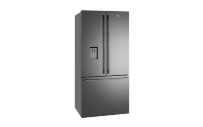 Electrolux 524L Dark Stainless Steel French Door Refrigerator