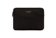 "Kate SpadeSlim Sleeve For 13"" MacBooks - Black & Gold"
