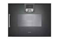 Gaggenau 200 Series Anthracite Combi-steam Oven Right Hinge 45cm
