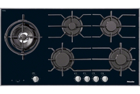 Miele Gas Cooktop with 5 Burners Including Left Dual Wok