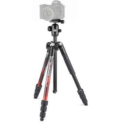 Manfrotto Element MII Aluminium Tripod with Ball Head - Red