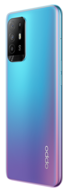 Oppo a94 5g cosmo blue back45right lowres