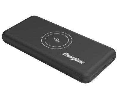 Energizer Qi Wireless Power Bank 10000Mah 5V 2.1A Black