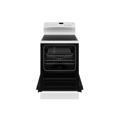 Wle645wc   westinghouse 60cm electric freestanding cooker white with 4 zone ceramic cooktop %282%29