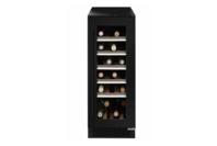Ilve 18B Black Glass Wine Cabinet