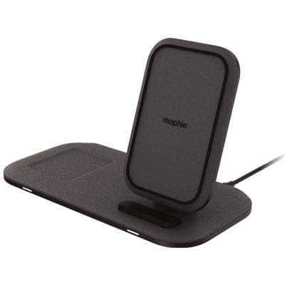 Mophie 2 in 1 Wireless Charging Stand+ Black