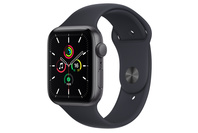 Apple Watch SE GPS, 44mm Space Grey  Case With Midnight Sport Band