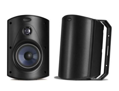 Polk Atrium 6 Outdoor Speaker (Pair) - Black