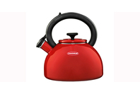 Chasseur Enamelled Whistling Kettle - Red