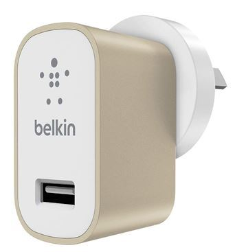 Belkin MIXITUP Metallic Home Charger - Gold