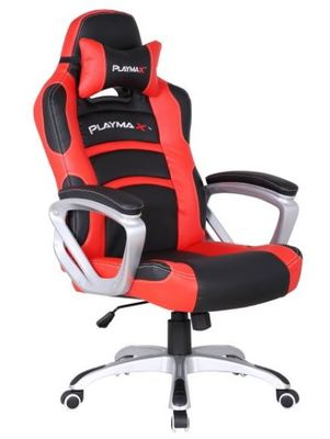 Playmax Gaming Chair - Red and Black