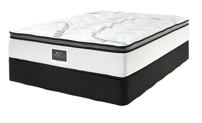 SLEEPMAKER MONTEGO PLUSH MATTRESS & BASE SINGLE
