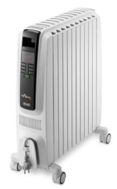 De'Longhi Dragon4 Oil Column Heater 2400W with Digital Timer