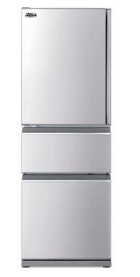 Mitsubishi 370 Litre Multi Drawer Fridge Freezer Left